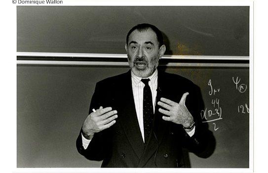Stanley Deser, IHES 40th anniversary, 1997
